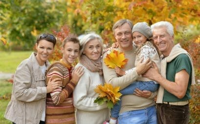 Famille de plusieurs génération