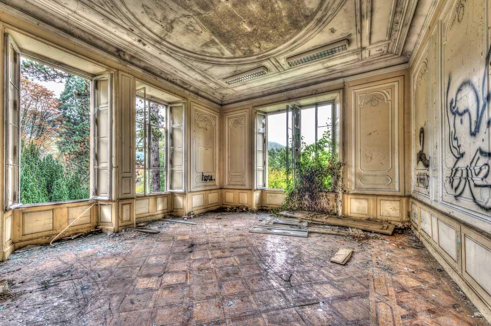 Maison à l'abandon