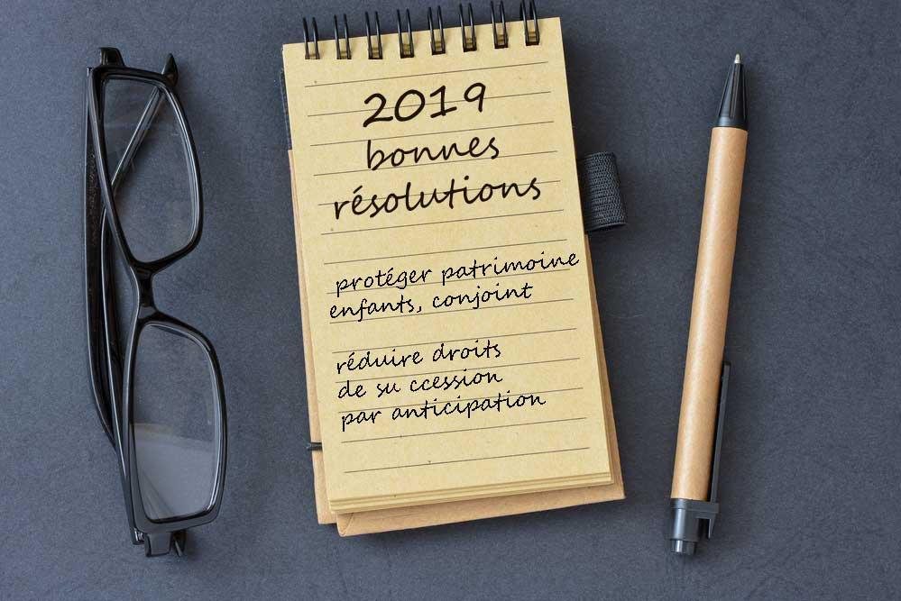 Bonnes résolutions 2019